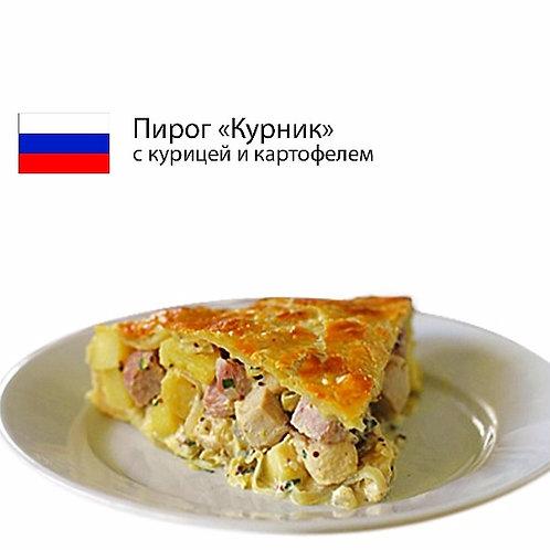 "Пирог ""Курник"" с курицей и картофелем"