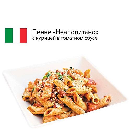 """Паста пенне """"Неаполитано"""" с цыпленком и вялеными томатами"""