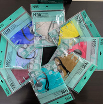 N95 Multi-color Packs