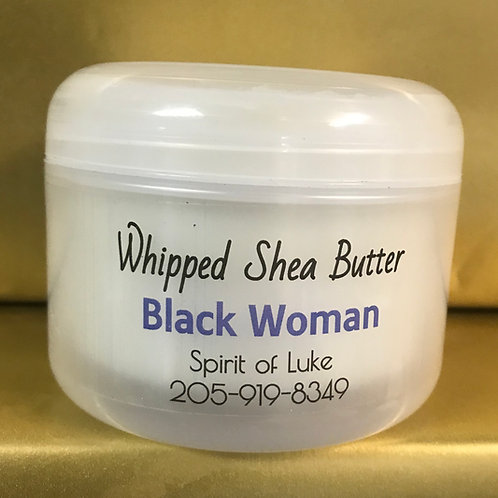 Black Woman Whipped Shea Butter
