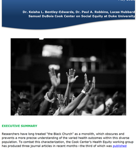 Eat, Pray, Live...A new research brief