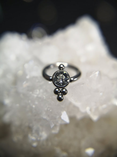 Couture BCR With Cluster Gem Disk