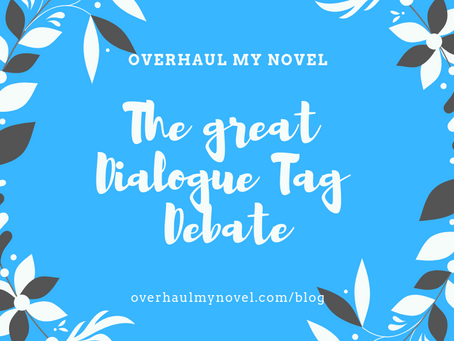 The Great Dialogue Tag Debate
