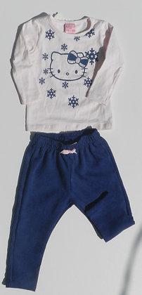 Conjunto Blusa e Calça- Hello Kitty