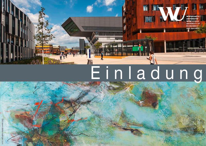 Einladung Vernissage WU Wien