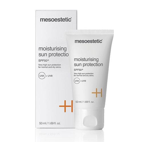 Mesoestetic Moisturising sun protection SPF 50+ Увлажняющий солнцезащитный крем