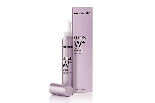Mesoestetic Ultimate W + Whitening spot eraser, для локального применения, 15 мл