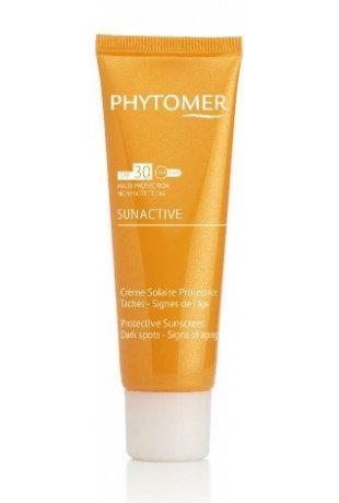 Солнцезащитный крем от пигментных пятен SPF 30 PHYTOMER SUNACTIVE, 125 мл