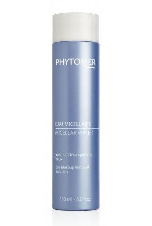 Мицеллярная вода – лосьон для снятия макияжа с области глаз. PHYTOMER, 150 мл