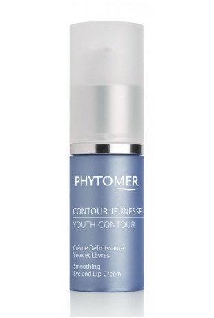 Восстанавливающий крем от морщин для кожи глаз и губ PHYTOMER YOUTH CONTOUR,15мл