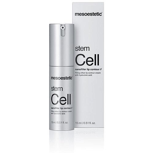 Mesoestetic Stem Cell nanofiller lip contour Крем для контура губ, 15 мл
