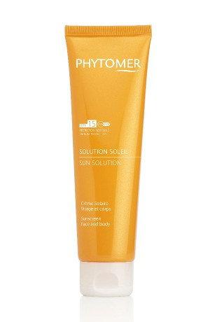 Солнцезащитный крем SPF15 PHYTOMER Solution Soleil Sunscreen SPF 15, 125 мл