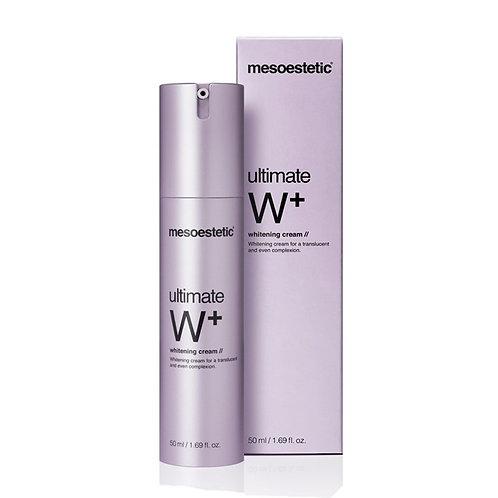 Mesoestetic Ultimate W + Whitening cream Увлажняющий крем, 50 мл
