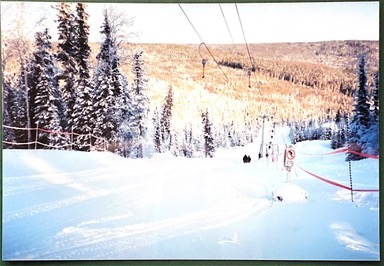 New Green T-Bar operating winter 1994