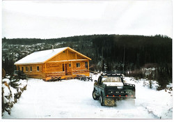 1985 Our first ski Chalet