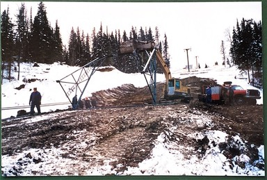 1994 New Green T-bar Instalation