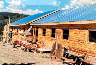 1987- New Chalet Addition