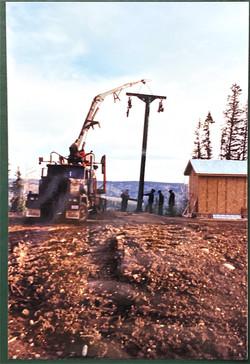 1994 New Green T-bar Instalation