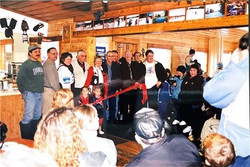 Ribbion Cutting- offcial opening of Chalet addition