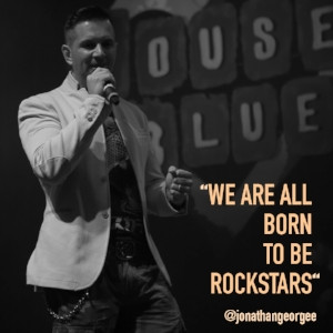 YOU WERE BORN TO BE A ROCK STAR