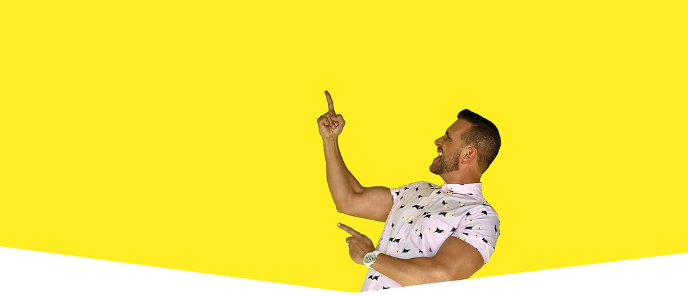 jonathan george personal branding yellow background