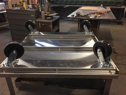 Custom Built Stainless Steel Dolly (Bottom)