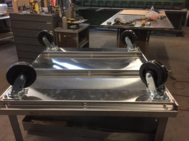 Custom Built Stainless Steel Dolly (Bottom)