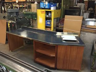 Custom Built Countertop/Cabinets 2