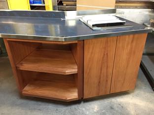 Custom Built Countertop/Cabinets