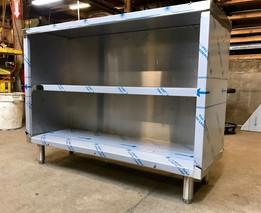 Custom Built Stainless Steel Shelves 2
