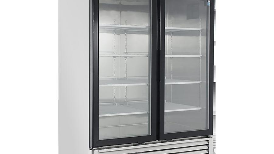 MCF8703 Glass door Merchandiser- Freezer Series