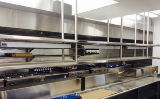 Spring House - Custom Built & Installed Stainless Steel Shelves