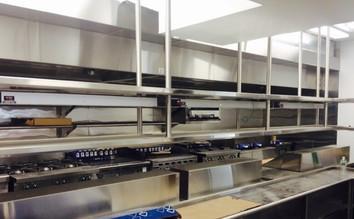 Spring House - Custom Built & Installed Stainless Steel Shelves