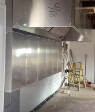 Custom Built Stainless Stell Wall Panel/Exhaust Hood