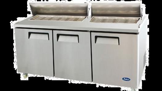 MSF8308 Mega Top Sandwich Prep Table-72 inches Refrigerator