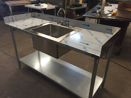 Custom Stainless Steel Sink/Counter