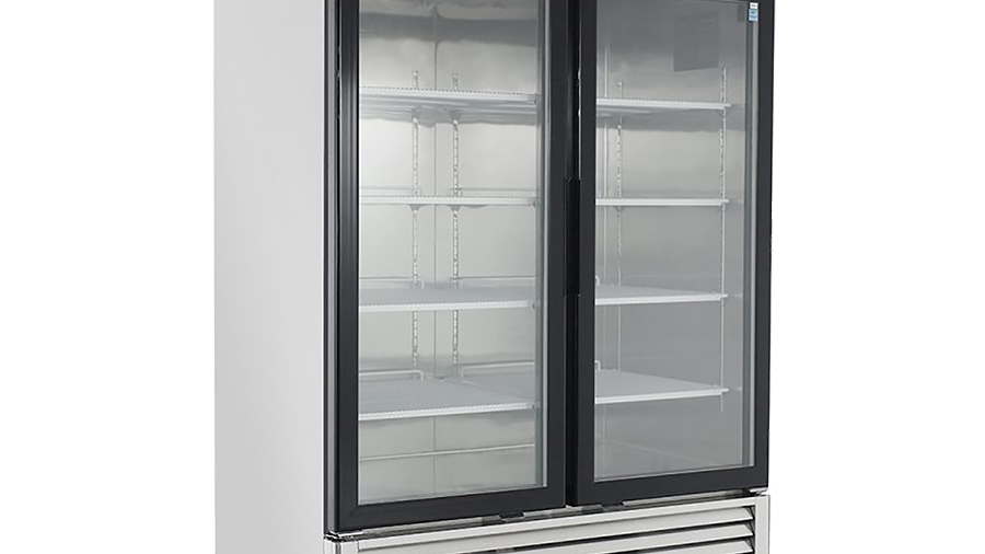 MCF8707 Glass door Merchandiser-Refrigerator Series