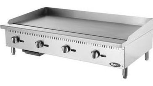 ATMG-48 Heavy Duty Countertop Stainless Steel Griddle