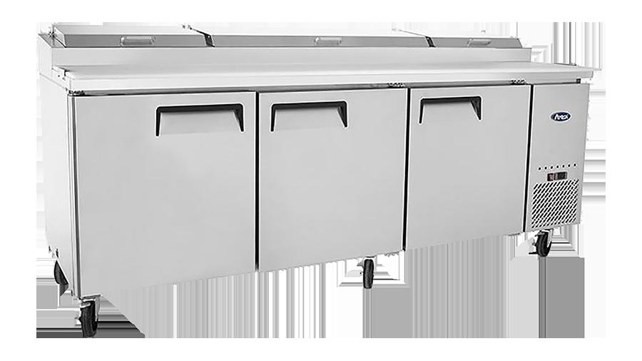 MPF8203 Pizza Prep Table-93 inches Refrigerator