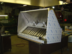 Custom Food Truck Exhaust Hood