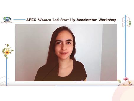 CEO de Suncast representó a Chile en cumbre APEC Women para fundadoras de startups tecnológicas
