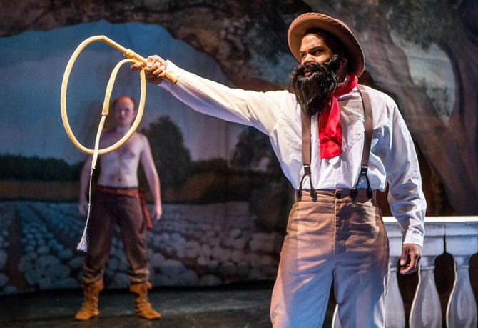 Race and Identity - Octoroon preview piece in the Boston Globe