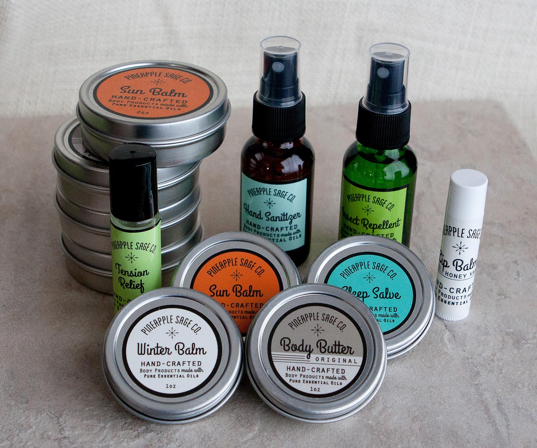 Marketing Studio - Pineapple Sage product line