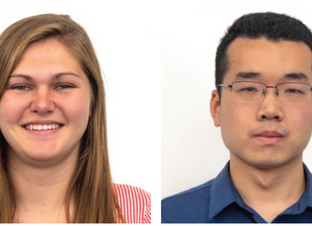 IPiB students Emily Knuth and Erli Jin join the lab