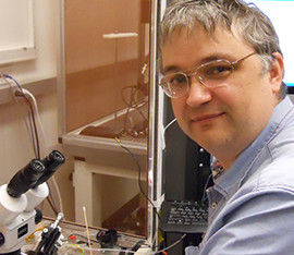 Welcome to Evgeniy, who joins the lab as a Scientist!