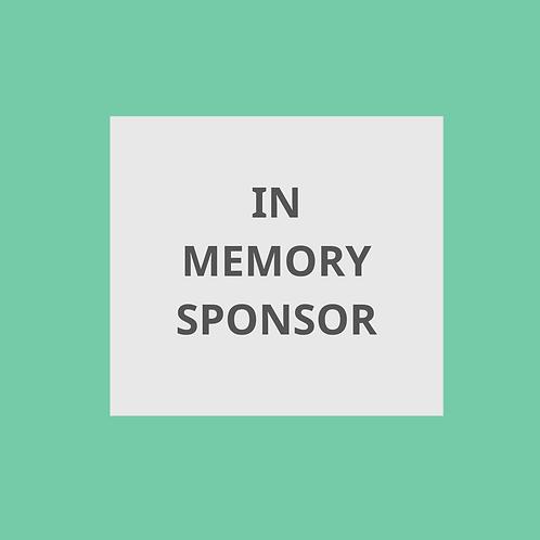 In Memory Hole Sponsor