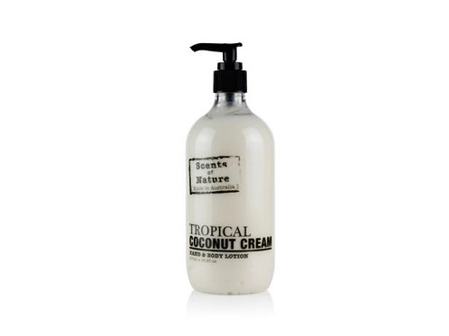 Tropical Coconut Cream Body Lotion