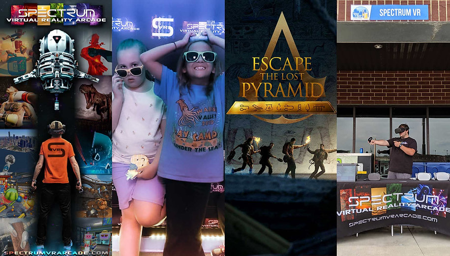 Things to do Fort Wayne, Escape Rooms, Virtual Reality Arcade, Birthday Parties