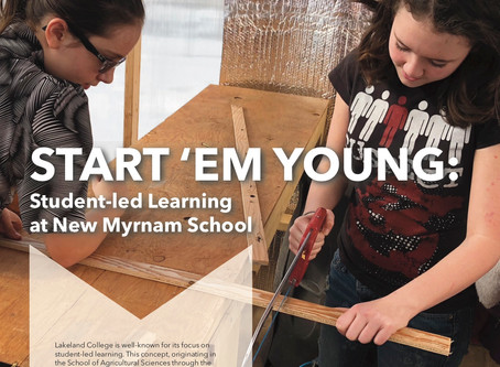 NMS Featured in Lakeland College's Limitless Magazine for their Groundbreaking Project