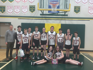 Barons Junior Basketball Team Takes Second Place at the Glendon Tournament